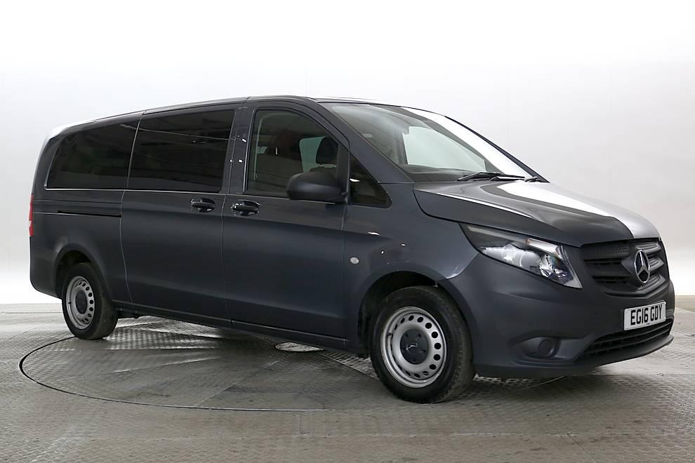 Mercedes Vito (MPV) - Cargiant