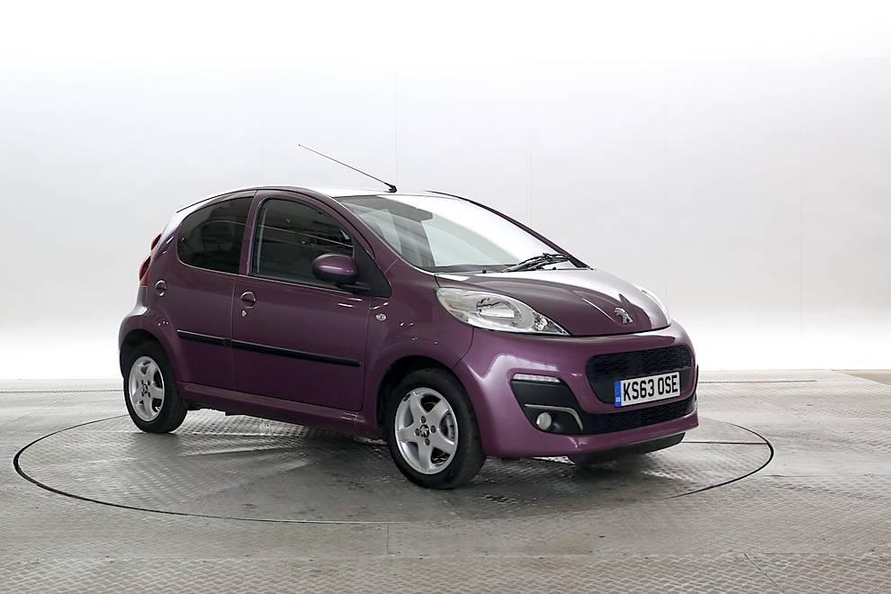 Peugeot 107 - Cargiant