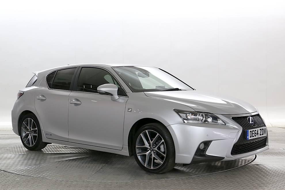 Lexus CT 200h - Cargiant
