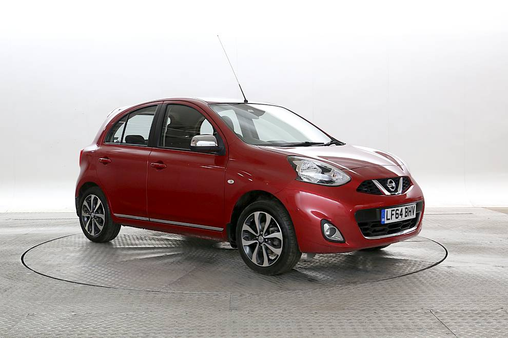 Nissan Micra - Cargiant