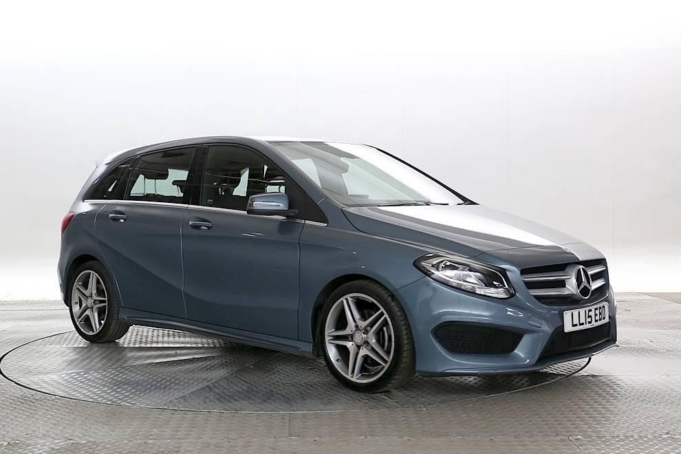 Mercedes B180 - Cargiant