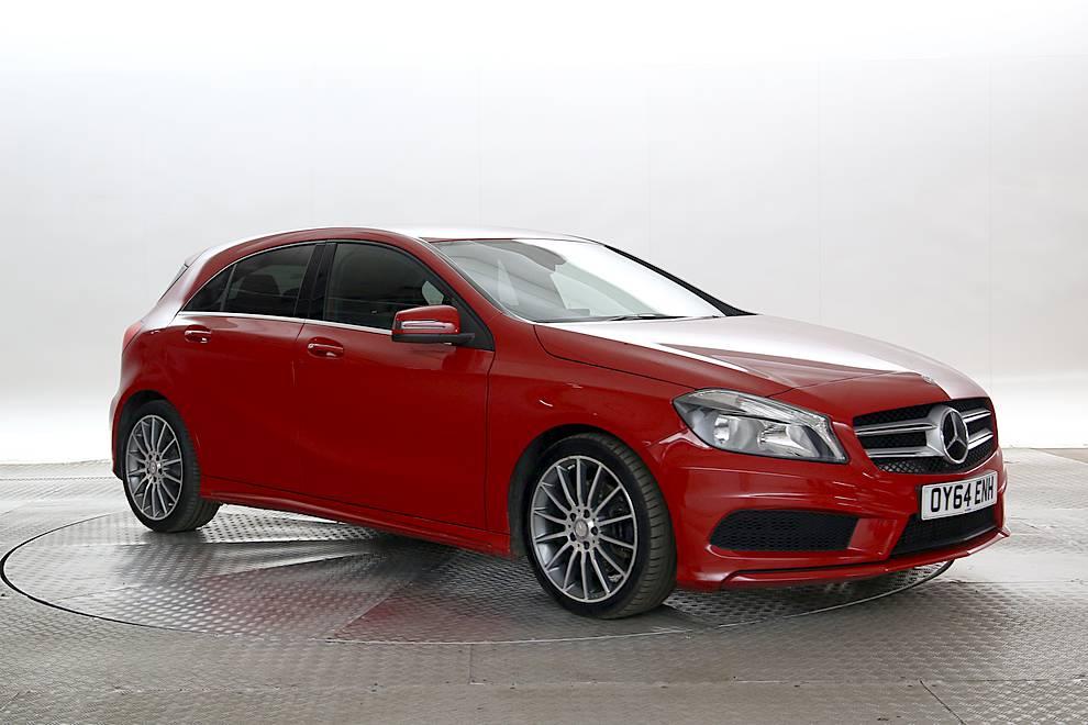 Mercedes A220 - Cargiant