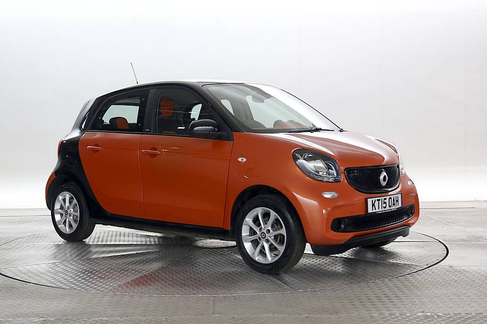 Smart Forfour - Cargiant