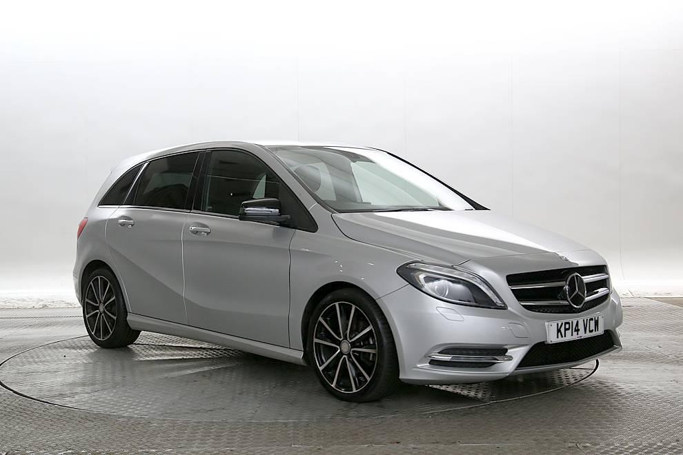 Mercedes B200 - Cargiant