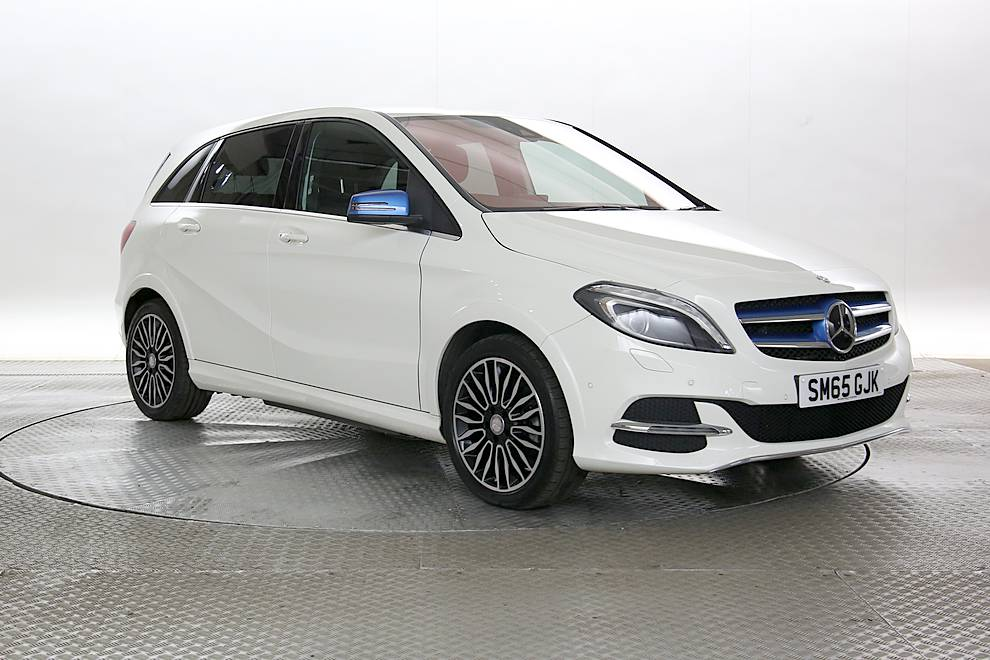 Mercedes B Electric Drive - Cargiant