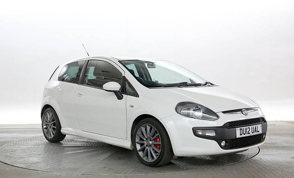 Fiat Punto Evo - Cargiant