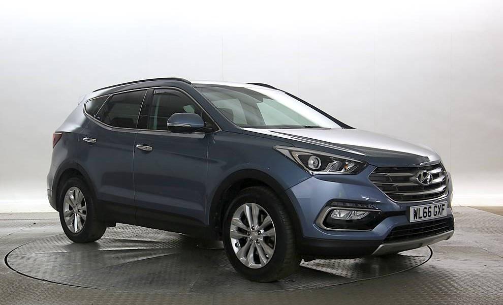 Hyundai Santa FE - Cargiant